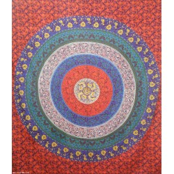 Indian Cotton Barmeri Jaipuri 6Layer Tapestry.
