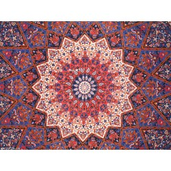 Blue Jaipuri Mandala Star Wall Decor Double,Wall Decor,Wall hanging Tapestry,Wedding Decorative,Wall Art,wall Decor