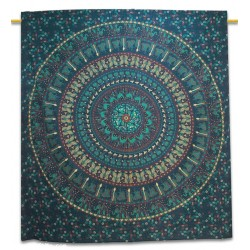 Indian Cotton Circled Round Hippie With Cloves,wall decor,Wall Decoration,Wall Hanging Tapestry.